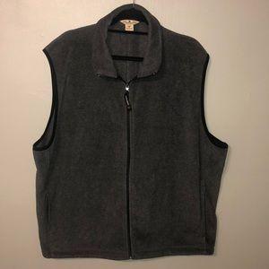 Woolrich men's fleece vest